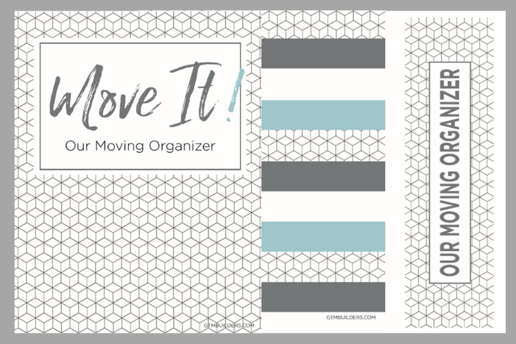 image relating to Printable Binder Labels referred to as Absolutely free printable going binder downloadable package inlcuding